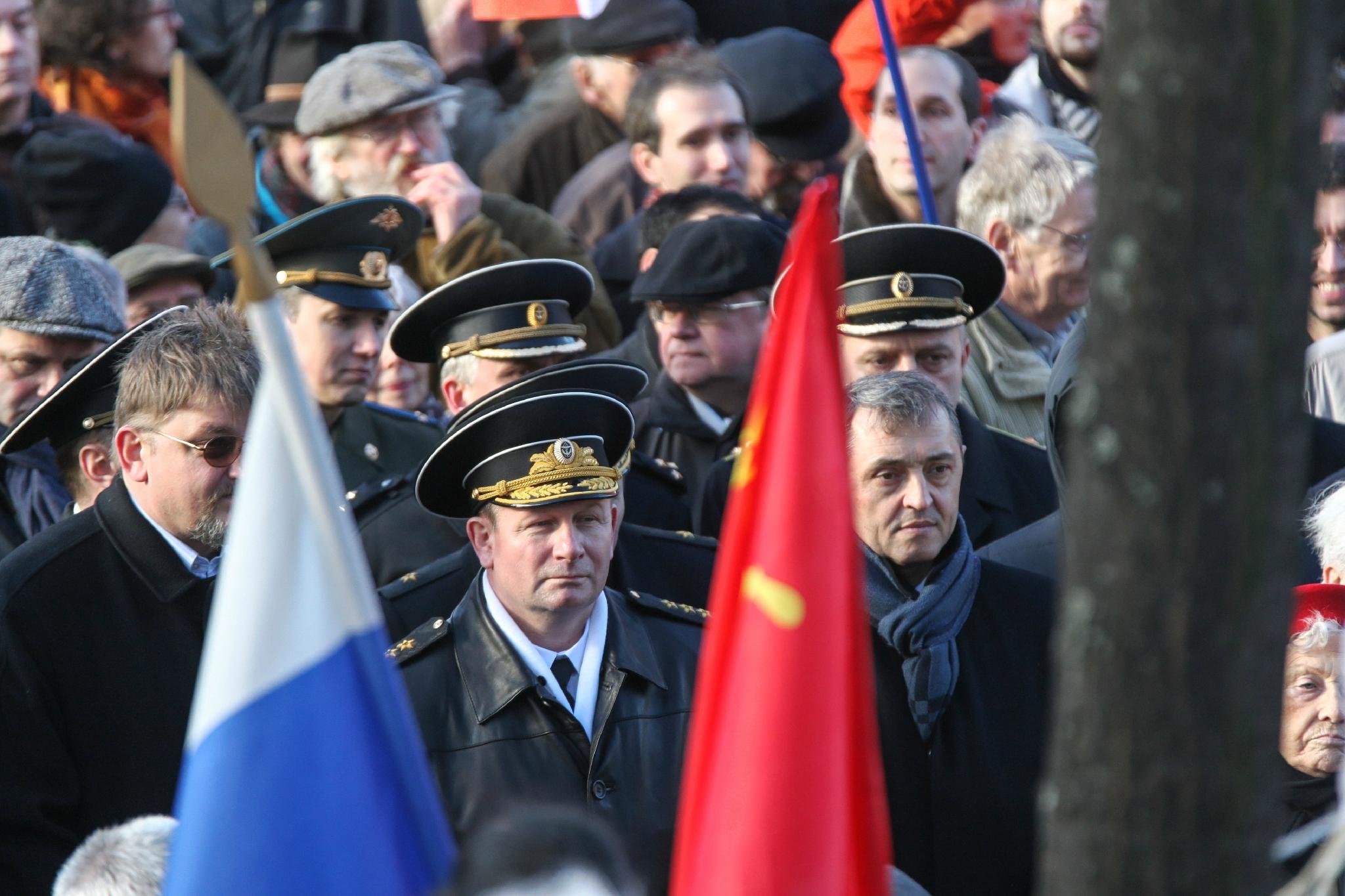 Il y a 70 ans, la bataille de Stalingrad : commémoration à Paris. © Michel Stoupak. Sam 02.02.2013, 15:13.