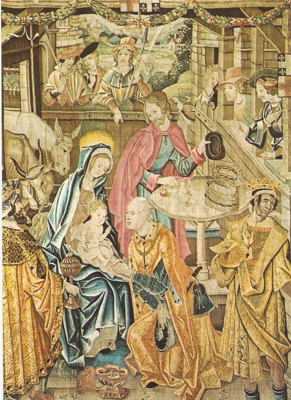 Adoration des Mages - REIMS - Tapisserie de la vie de la Vierge