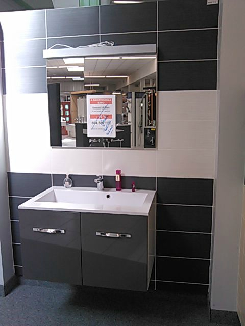 Choix des sols et carrelages the little house for Salle bain gris anthracite