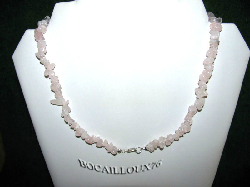 Collier QUARTZ Rose 6 (5)