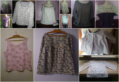 12 blouses pour 2012