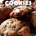 °cookies aux amandes caramélisées & chocolat°