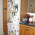 Changement de déco pour mon frigo