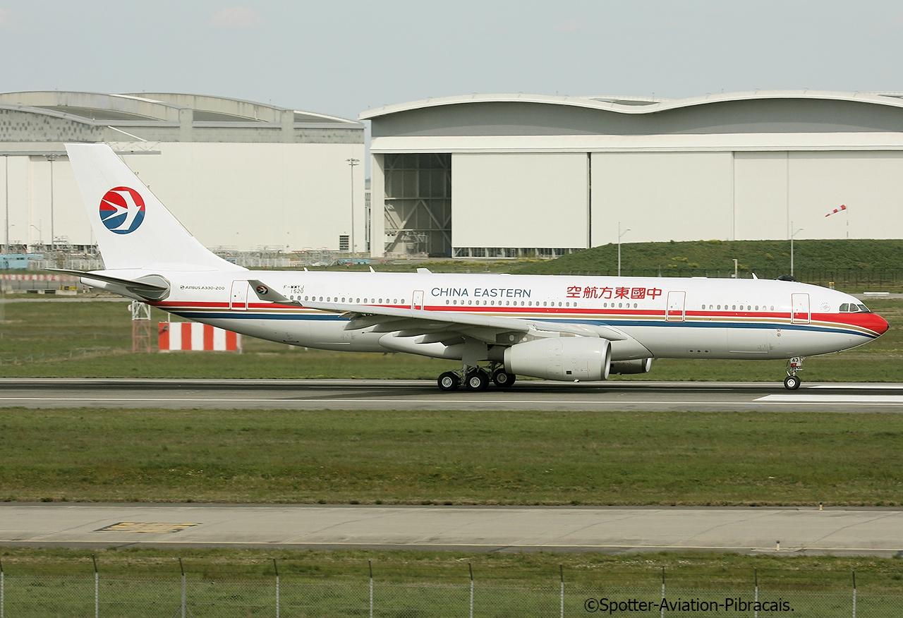 A roport toulouse blagnac tls lfbo china eastern airlines airbus a330 243 f wwyj msn 1520 - Aeroport blagnac adresse ...