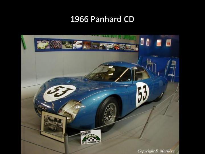 1965 - Panhard CD