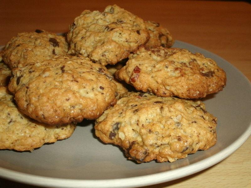 cookies chocolat noisettes la bouche pleine. Black Bedroom Furniture Sets. Home Design Ideas