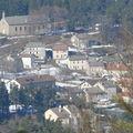 2009 02 28 Le Mazet Saint Voy vu du sommet entre Les Baraques et La Varenne