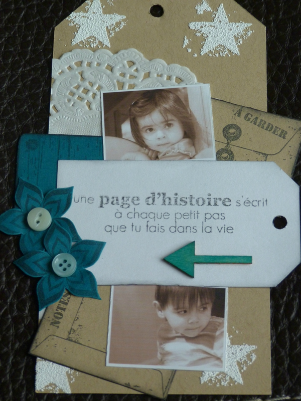 Scraplift du tag de Steff