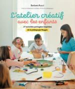 L'atelier créatif avec les enfants couv