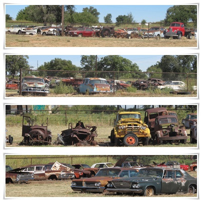 2015 route 66 Shamrock wreck