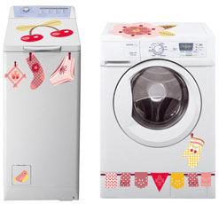 Des stickers pour embellir notre quotidien r cr a 39 maison - Stickers pour machine a laver hublot ...