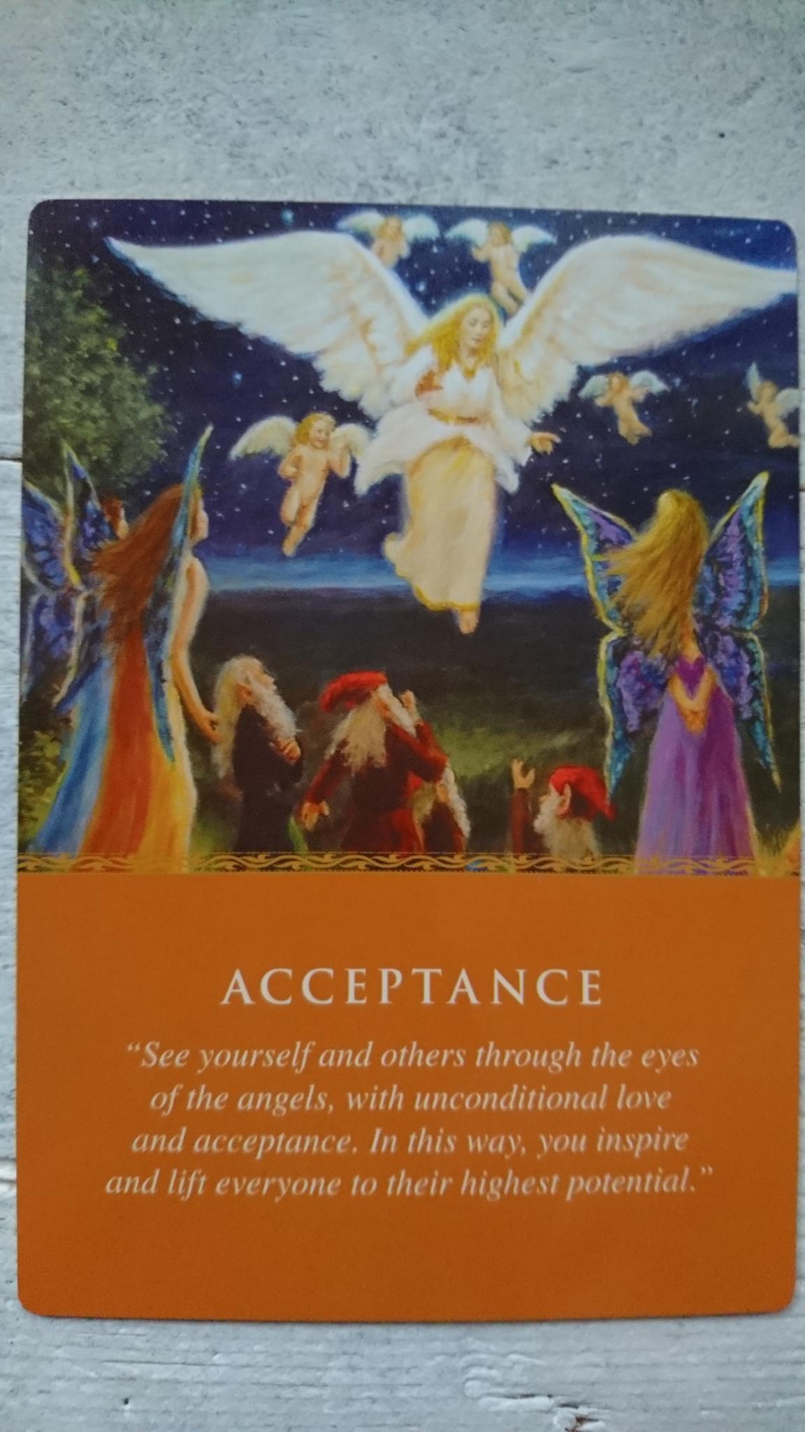 Message d ' Amour : Acceptation