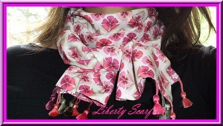 Scarf en liberty