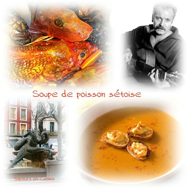 Soupe de poissons sétoise