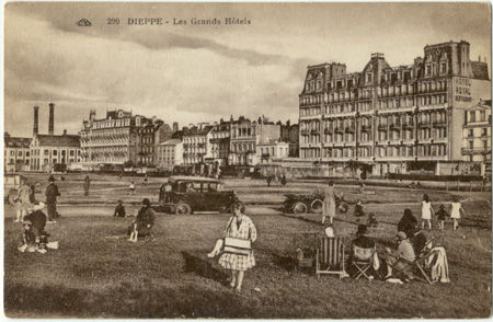 76 - DIEPPE - Les grands hotels