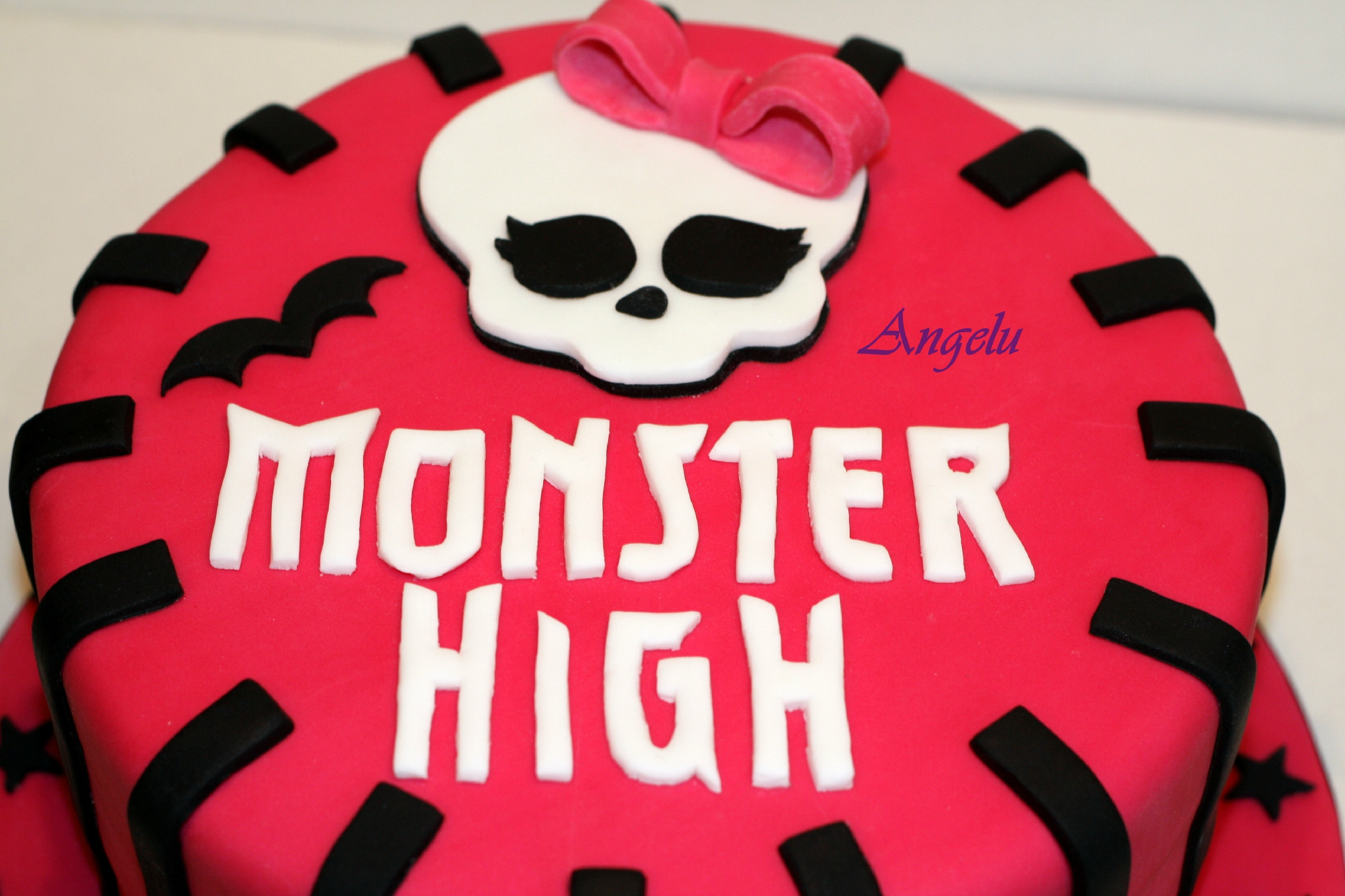 Assez Gâteau Monster High - MA PETITE PATISSERIE (Contact : isilda@neuf.fr) EY52