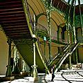 Sous la nef du Grand Palais.