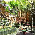 Jardin de la maison d'hôtes
