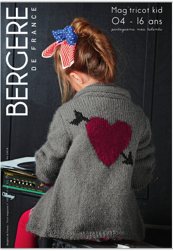 BERGERE DE FRANCE - CATALOGUES TRICOTS KIDS