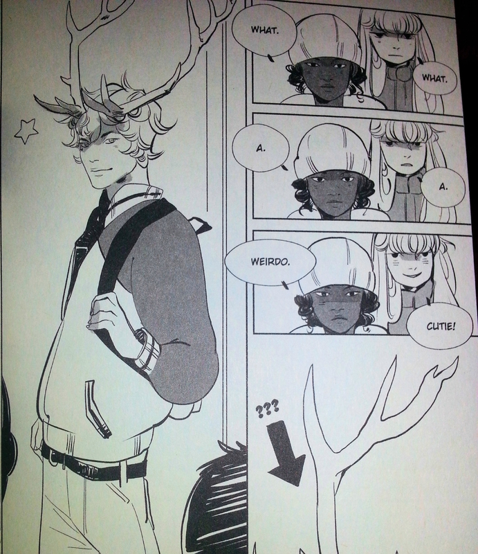 Reindeer Boy Cassandra Jean Yen press manga scan 01
