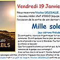 Nicolas delesalle sera chez nous le 19/01 pour notre première dédicace de 2018