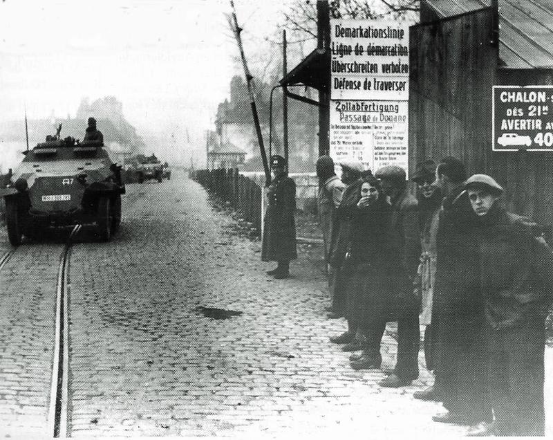 novembre 1942 ligne démarcation