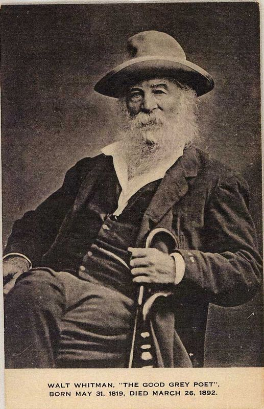 PostcardWaltWhitman