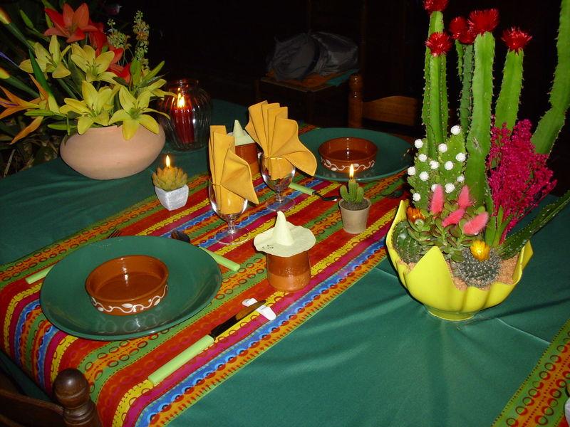 Decoration Pour Table Mexicaine