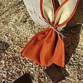 Pochette de pâques à garnir de chocolat
