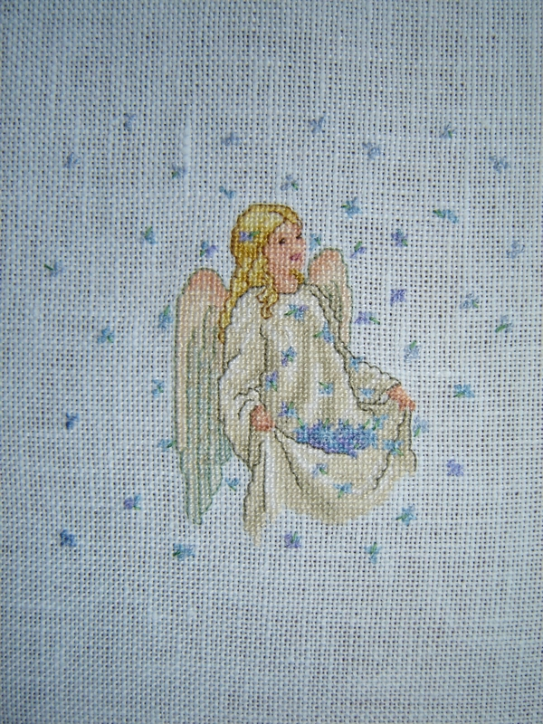 ange broderie