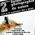 2 ème salon de la photographie de nature à barr