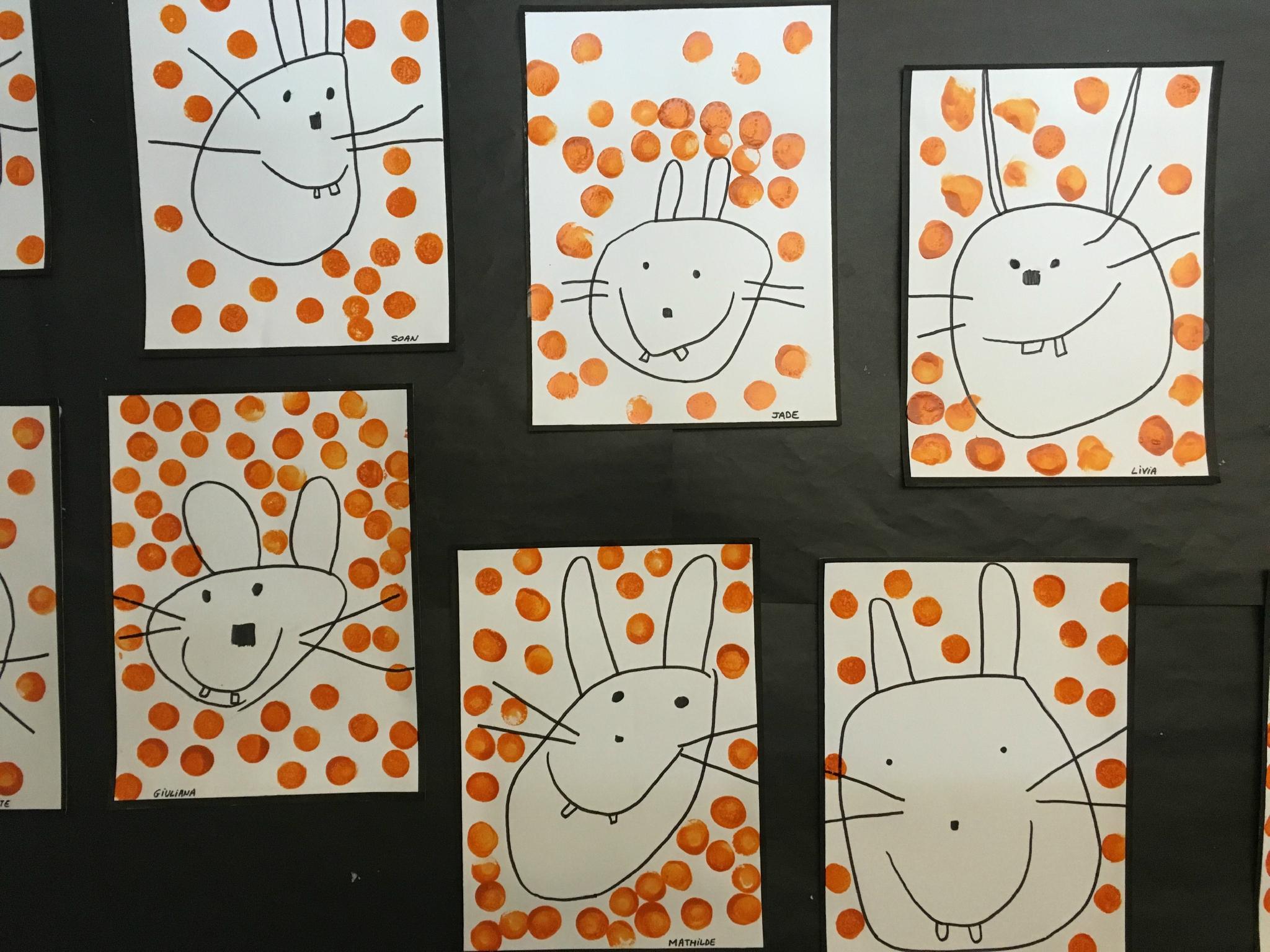 Sehr Lapin en dessin dirigé - Flo à la maternelle NR01