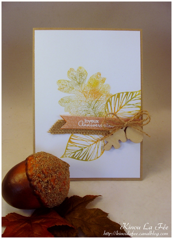 Carte Automne Baby Wipe 1