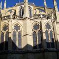 Bayonne-Cathédrale Ste Marie chapelles rayonnantes