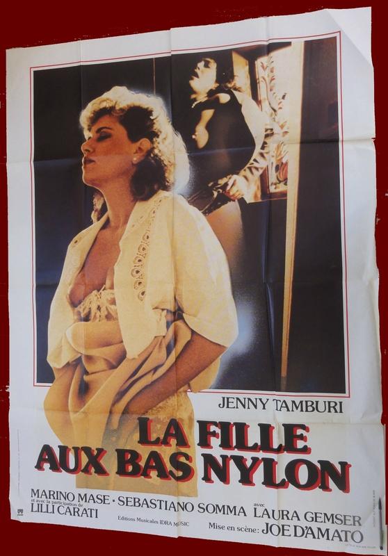 Affiche de film - La fille aux bas nylon