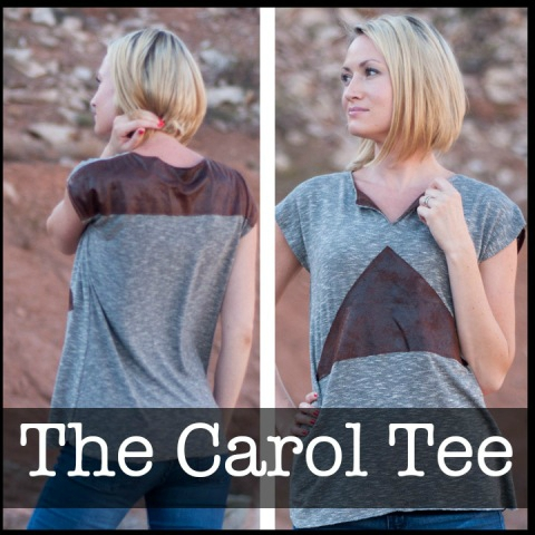 Schwin Designs - Carol Tee j