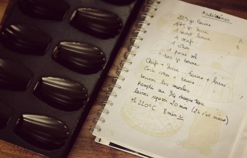 recettes madeleines