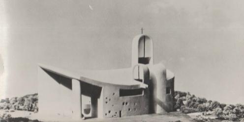 CPM Ronchamp Notre-Dame du Haut Maquette Est R