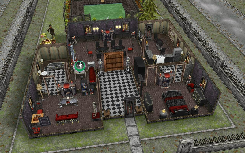 Les sims freeplay le cousin nocti les qu tes sociales for Modele maison sims freeplay