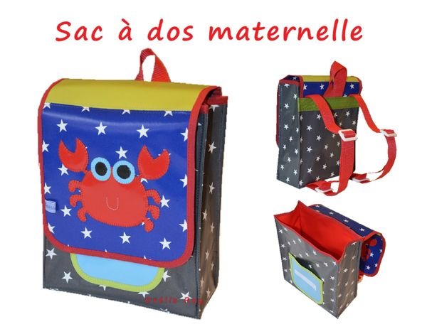 cute school bags sac dos maternelle gar on original. Black Bedroom Furniture Sets. Home Design Ideas
