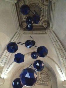 29 Exposition Dynamo, Grand palais, Paris, escalier, Mobile de l'escalier du grand palais
