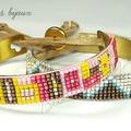 2 bracelets loom