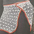 Vêtements femme au crochet #4 : paréo