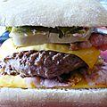 Hamburger viande et foie gras {façon rossini}