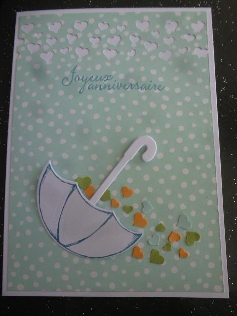 9a Carte Parapluie panier de coeurs