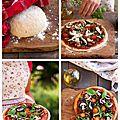 La pizza, c'est bon pour la ligne... si si ! enfin, du moins celle là.