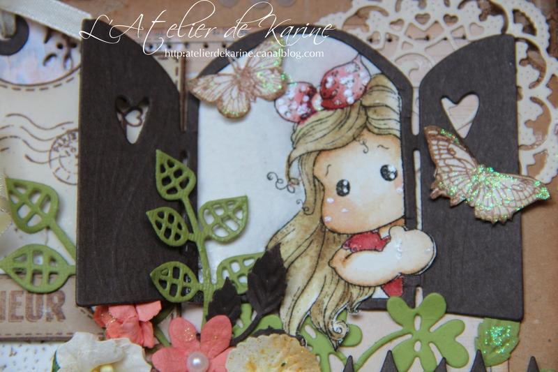 Mini album Magnolia - cadeau naissance 5