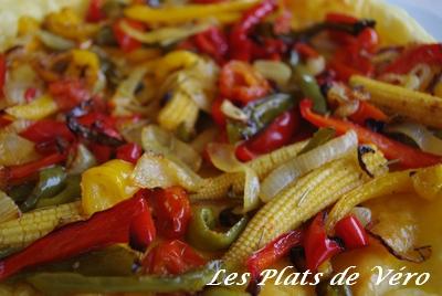 tarte aux légumes du soleil