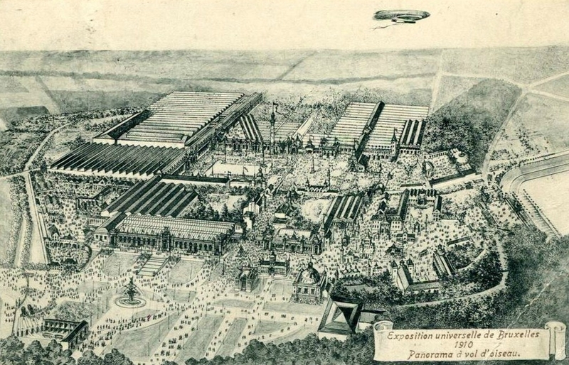 2 vue d'ensemble expo universelle 1910