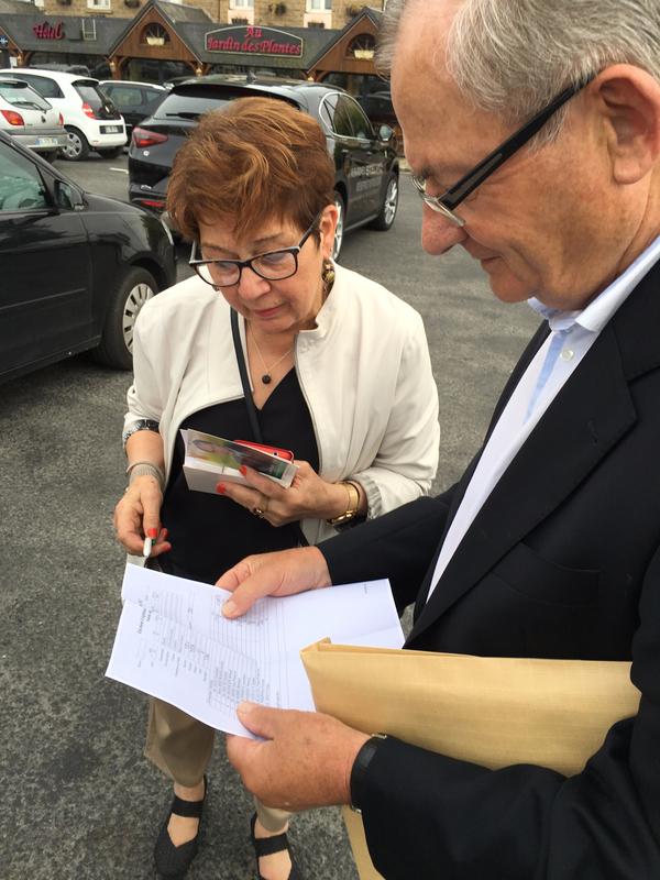 Gilonne Legendre assistant parlementaire André Masselin Avranches législatives 2017 résultats Guénhaël Huet